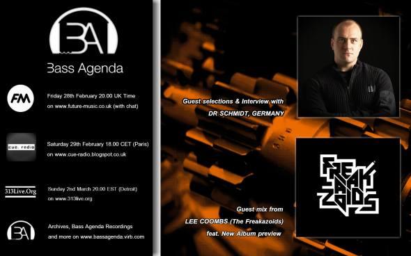 Bass Agenda flyer